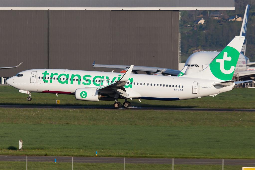 PH-HSK - B738 - Transavia