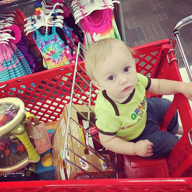 #onlychildproblems too many toys, daddy is spoiling him!! We can't take him anywhere... by bartlewife