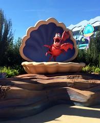 Orlando - Disney World - Disney's Art of Animation Resort - The Little Mermaid - Sebastian