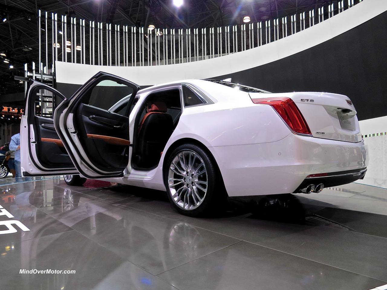 Cadillac CT6 Rear Doors Open