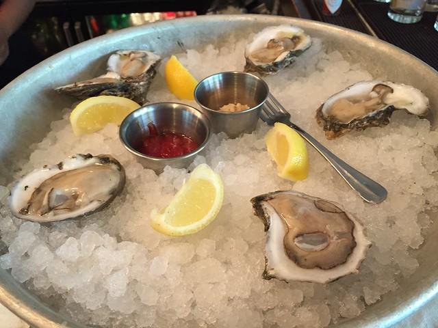 Prestige gulf oysters - Luke