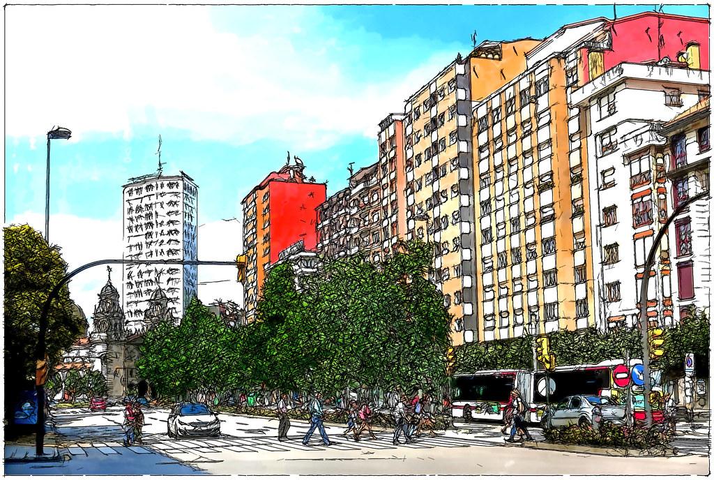 plaza del Humedal
