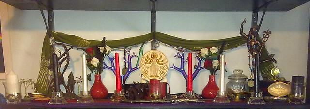 Rite of Her Sacred Fires shrine 2015