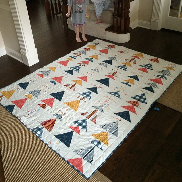 Quilt claiming!