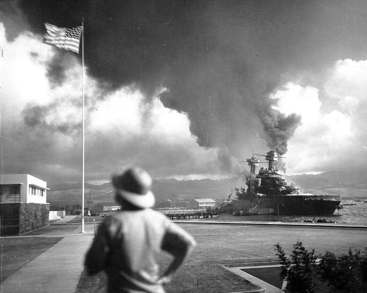 USS California Battleship Pearl Harbor BB-44
