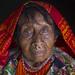 Panama, San Blas Islands, Mamitupu, Portrait Of An Old Kuna Tribe Woman by Eric Lafforgue