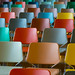 Colored chairs (on Explore) by Jan van der Wolf