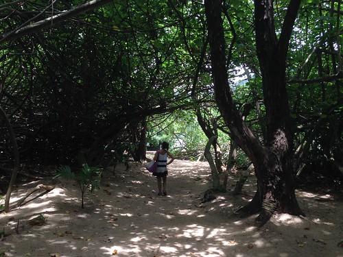 secret beach - Kualoa Ranch Hawaii
