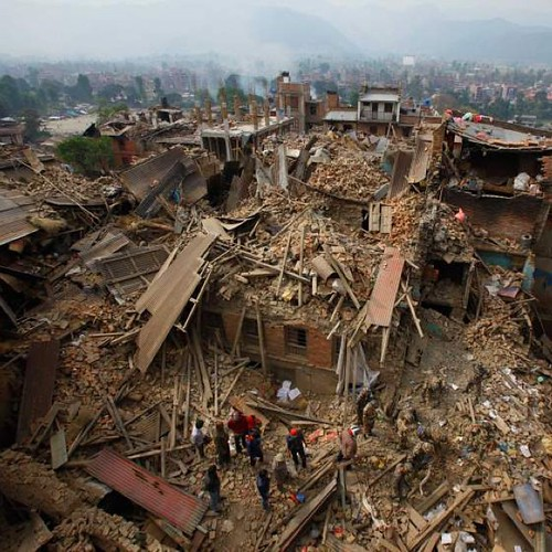 On April 25, a magnitude 7.8 earthquake hit Nepal, toppling homes and buildings in the country's capital city Kathmandu and triggering an avalanche on Mount Everest that killed 19. Many city residents were forced to spend several nights sleeping outdoors