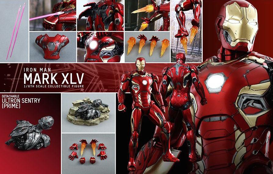 Mark XLV Hot Toys 1/6