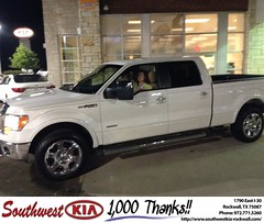 Congratulations to Drew Whitesell on your #Ford #F-150 from Kyle Bennett at Southwest KIA Rockwall! #NewCar