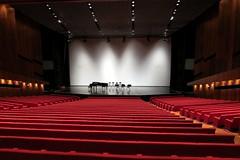 movie theater, performing arts center, theatre, stage, theatre, auditorium,