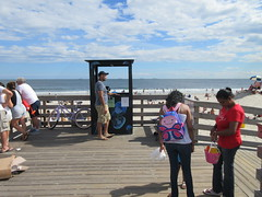 City of Long Beach Ocean Beach Park daily passes booth $15.00 summer of 2016 rate on LBI Long Beach Island, New York