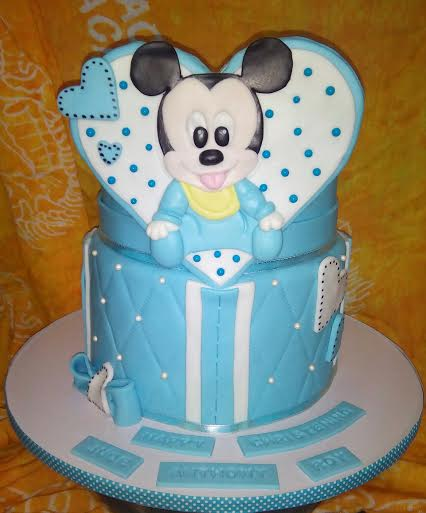 Mickey Mouse Cake by Sugar Belle by Suzanne Tan Dionio