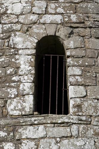 Meelick Round Tower door details