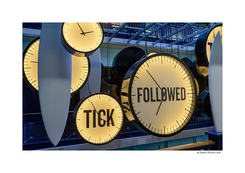 Tick followed ... tock? (Guinness Storehouse - Dublin)