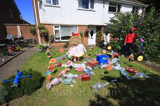 Candy Crush Saga at the Heather Scarecrow Festival 2016