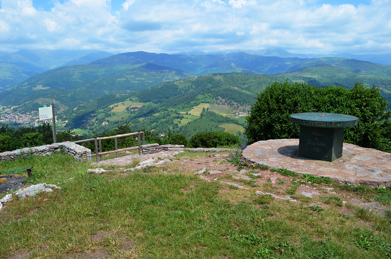 View from Ermita Sant Antoni, Camprodon, Pyrenees, Spain