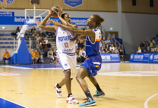 Basket, PB86 J28 : Poitiers - Angers (2014-2015)
