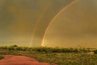 Rainbow in Llano, TX 1