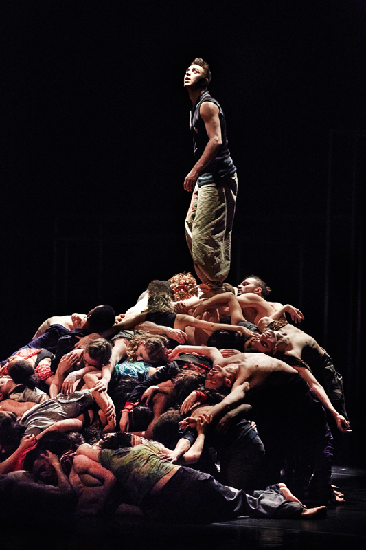 National Youth Dance Company  - Framed - Sidi Larbi Cherkaoui