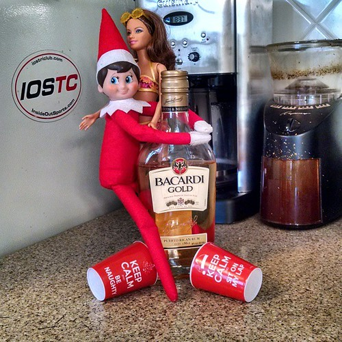 Elf and Barbie got into the...