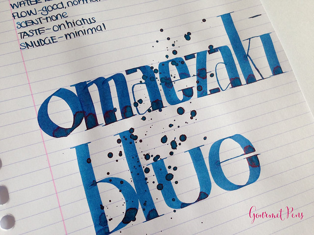 Ink Show Review Sailor Bung-Box Omaezaki Blue @bungbox (6)