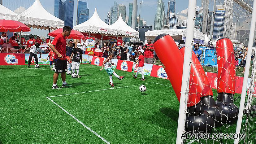 Football workshop for kids