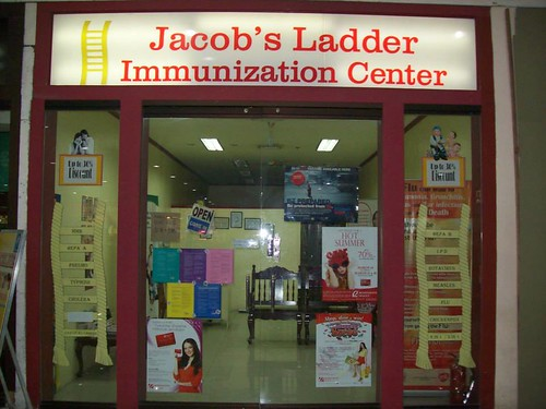 Cheaper vaccines at Jacob's Ladder Immunization Center
