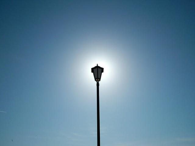 Светящийся фонарик // Shining street lamp