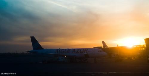 de soleil nikon foto parking coucher airbus aeroport f28 azur a320 alger 1755 d300 aigle 2015 houari boumediene fhbib graffyc