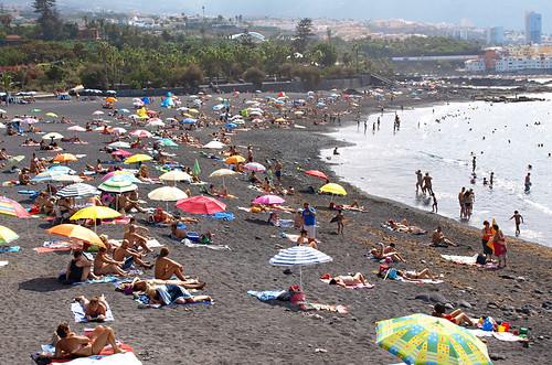 Playa Jardin, Puerto de la Cruz, Tenerife