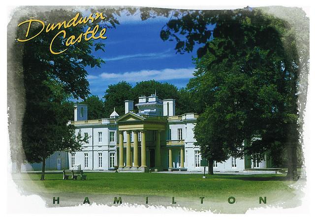 Ontario  - Hamilton - Dundurn castle - Lindsay's travelling envelope