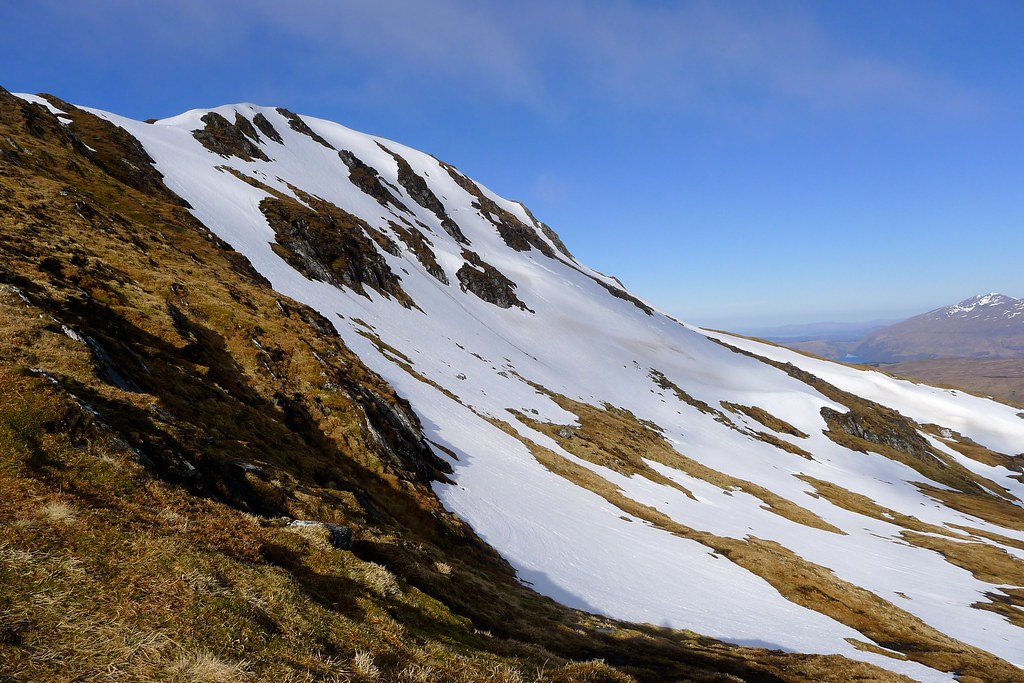 Northern slopes of Beinn Bhuidhe