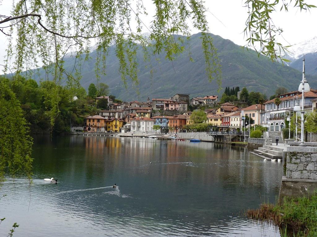 Lago di mergozzo map piedmont italy mapcarta for Lago di mergozzo