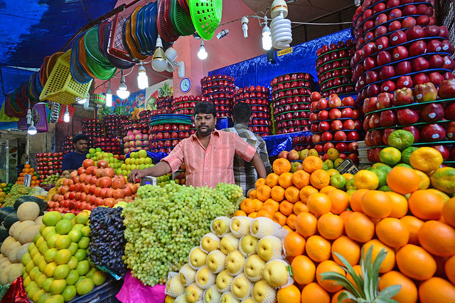 Mysore - Fruit vendor