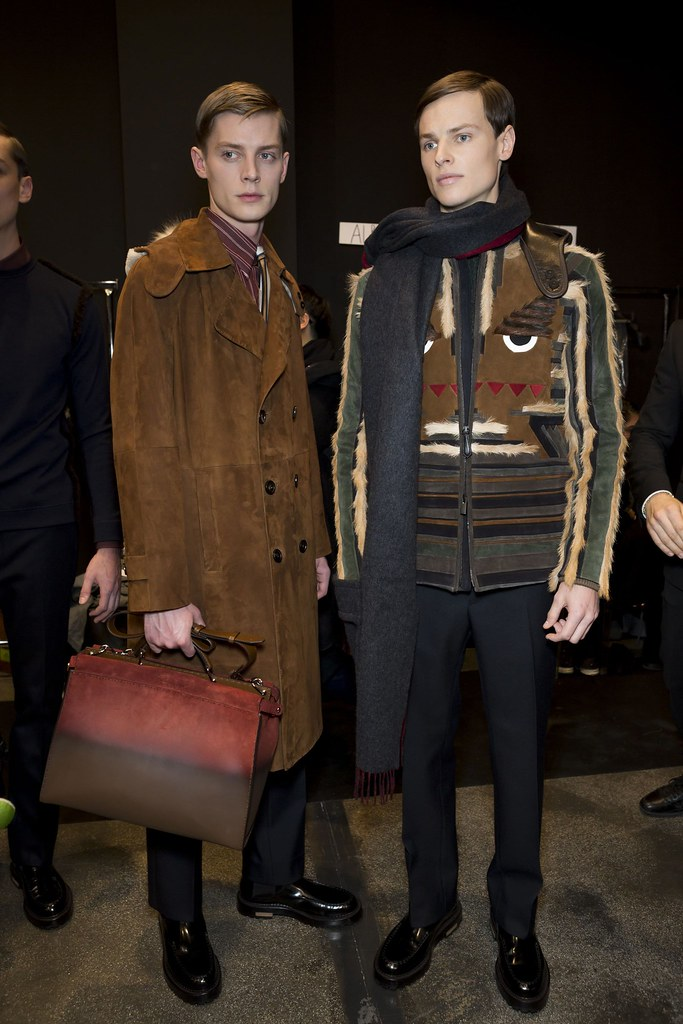 FW15 Milan Fendi235_Janis Ancens, Christopher Poulter(fashionising.com)