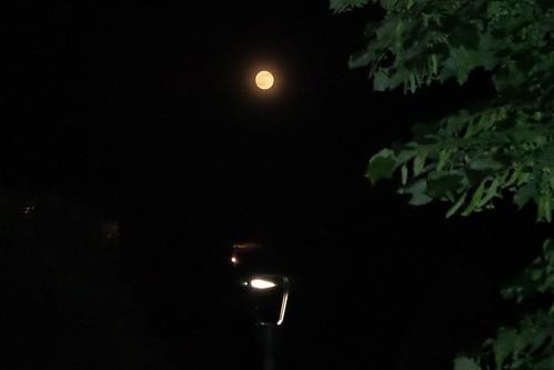 Buonanotte con questa #luna piena by Ylbert Durishti