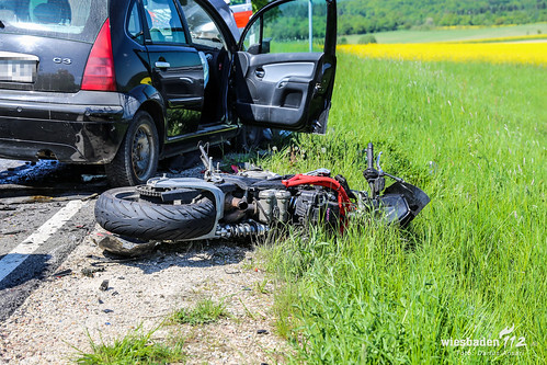 tödlicher unfall mit motorrad