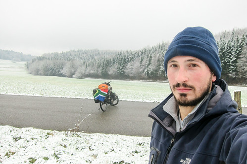 Snow in the Sundgau