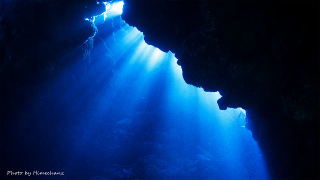 この時期の洞窟は1年で一番キレイ!