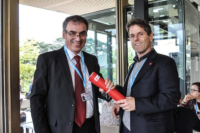 Race for Survival baton handed to Italy Minister of Health