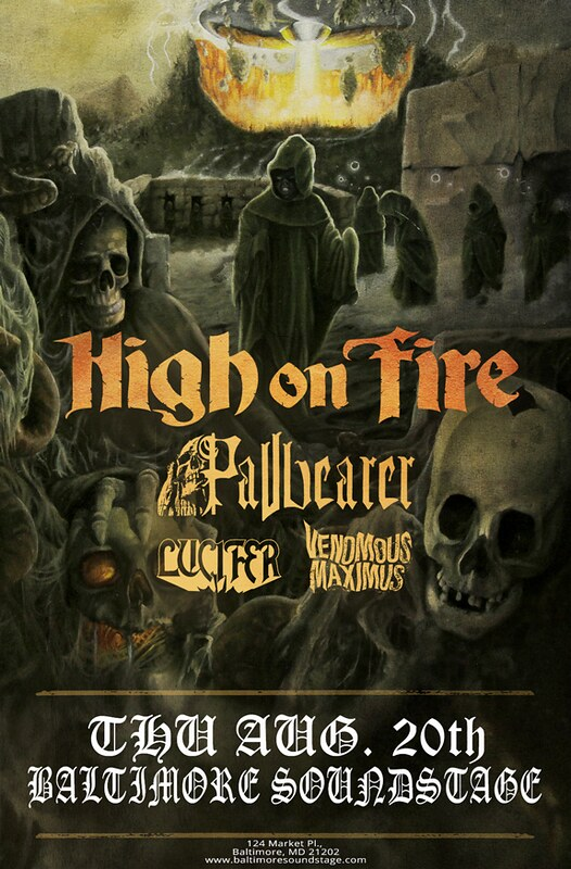 High On Fire at the Baltimore Soundstage