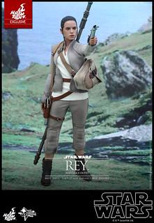 Hot Toys – MMS377 – STAR WARS:原力覺醒【芮。反抗軍裝束】Rey Resistance Outfit 1/6 比例人偶作品