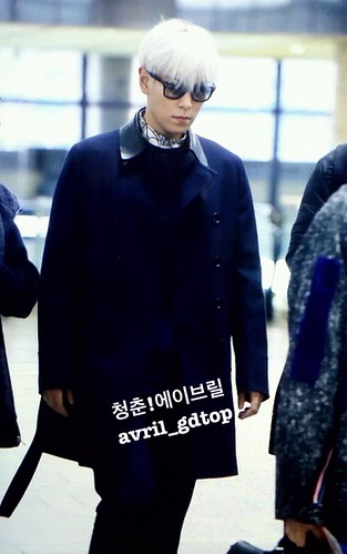 Big Bang - Gimpo Airport - 15jan2015 - TOP - Avril - 03