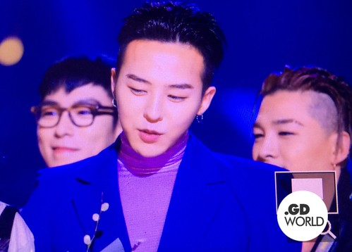 Big Bang - The 5th Gaon Char K-Pop Awards - 17feb2016 - GD World - 06