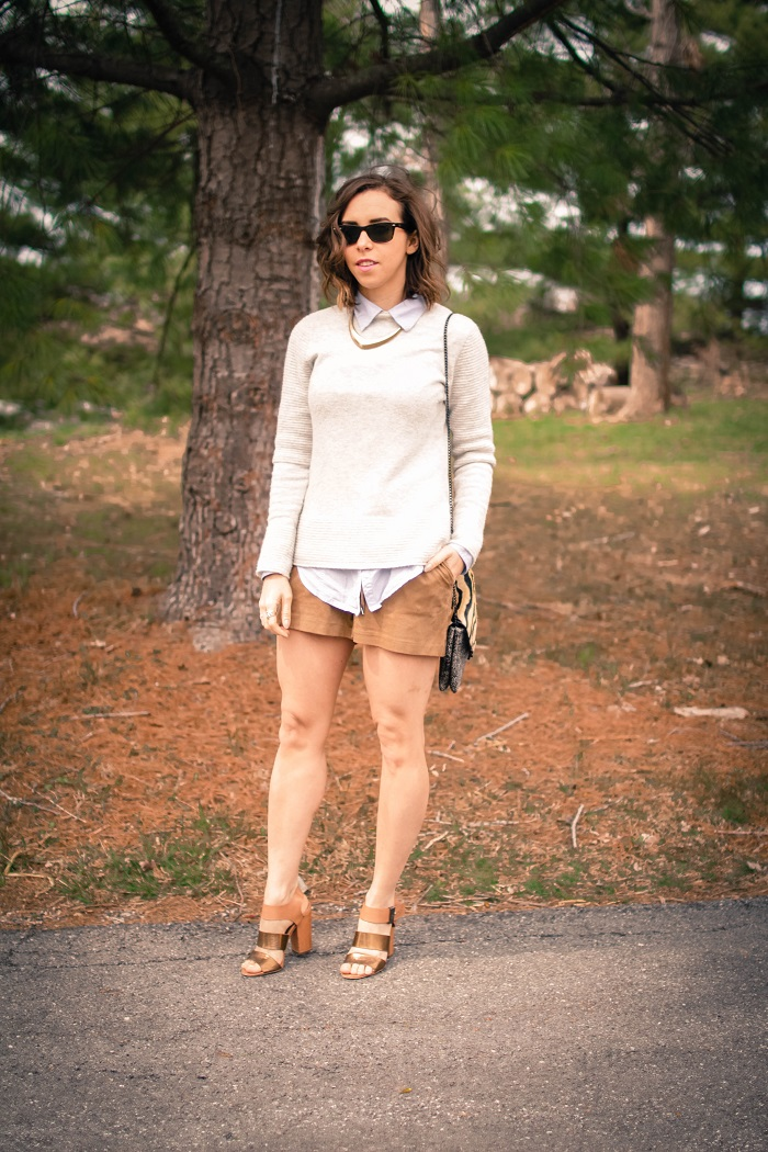 aviza style. a viza style. andrea viza. fashion blogger. dc blogger. spring style. spring trend. suede. spring layers. suede shorts. ootd. outfit. 4