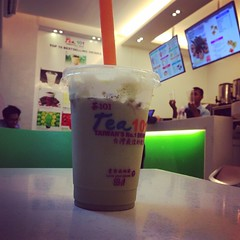 Feeling brave with #milktea tonight! #maineeet eh