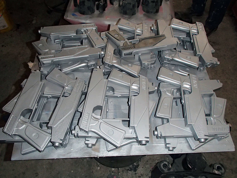Big Pile of Pistol Castings