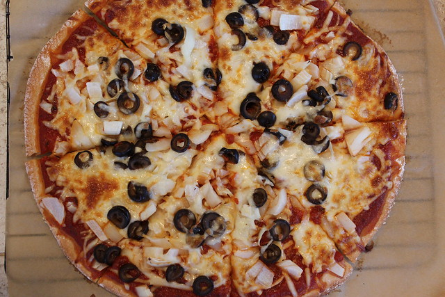 Gluten Free Pizza Recipe made with Mozzarella Cheese
